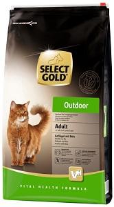 Select Gold Outdoor adult szárnyas&rizs 10kg