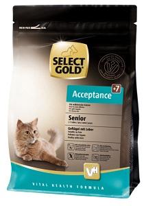 Select Gold Acceptance senior szárnyas&máj 400g