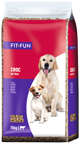 fit+fun Croc kutyaeledel 15kg