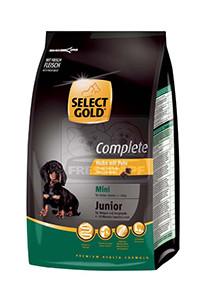 SELECT GOLD classic Junior Mini csirke&pulyka száraztáp felnőtt kutyáknak 1kg