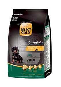 SELECT GOLD classic Junior Mini csirke&pulyka száraztáp kölyök- és fiatal kutyáknak 1kg