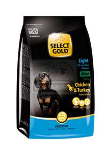 SELECT GOLD Mini Active száraz kutyaeledel 1kg
