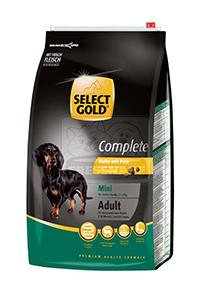 SELECT GOLD classic Adult Mini csirke&pulyka száraztáp felnőtt kutyáknak 4kg