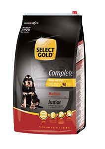 SELECT GOLD classic Junior Medium csirke&pulyka száraztáp kölyök- és fiatal kutyáknak 4kg