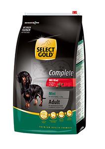 SELECT GOLD classic Adult Mini marha száraztáp felnőtt kutyáknak 4kg