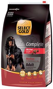 SELECT GOLD classic Adult Medium marha száraztáp felnőtt kutyáknak 4kg