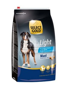 SELECT GOLD Maxi Light száraz kutyaeledel 12 kg