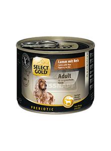 SELECT GOLD Sensitive kutyakonzerv bárány+rizs 200g