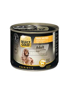 SELECT GOLD kutya konz csirke+rizs 200g
