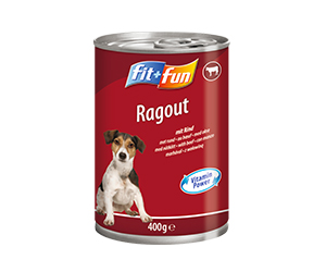 fit+fun kutya konzerveledel marha 400g