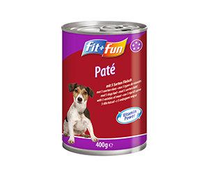 fit+fun kutya konzerveledel 5x húsvariáció 400g