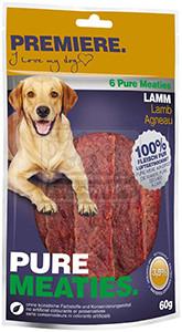 PREMIERE BEST MEAT jutalomfalat kutyáknak - színhús bárány 60g