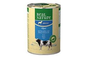 Real Nature kutyakonzerv marha 400g