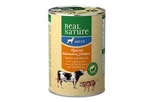 Real Nature kutyakonzerv pármai sonkás 400g
