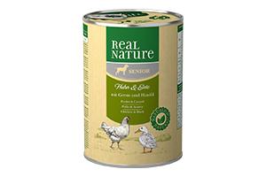 Real Nature senior bárány-csirke kutyakonzerv 400g