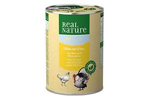Real Nature kutyakonzerv light szárnyas-cukkini 400g