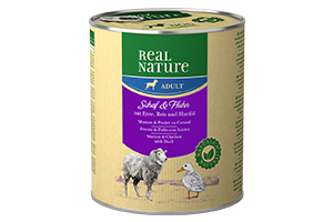 Real Nature kutyakonzerv birka+szárnyas 800g