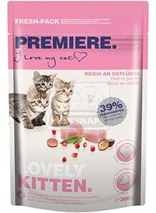 Premiere Lovely Kitten szárazeledel kölyök cicáknak, 300g