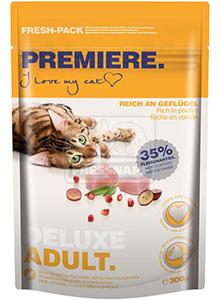 Premiere Gourmet Adult szárazeledel felnőtt cicáknak, 300g