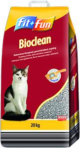 fit+fun alom Bioclean csomósodó 20kg