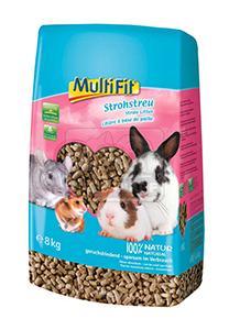 MultiFit kisemlős alom préselt szalma 20l