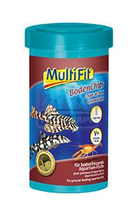 MultiFit haleledel fenéklakó halak részére / chips 250ml