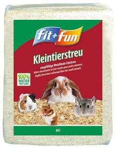 fit+fun kisemlős alom forgács 60l