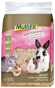 MulitFit kisemlős alom kender 10l