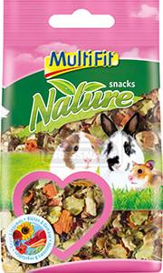 MultiFit nature snack virágok&zöldség 100 g