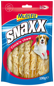 MultiFit Snaxx 100g Chick 'n Chew No.4