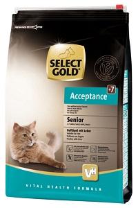 Select Gold Acceptance senior szárnyas&máj 3kg