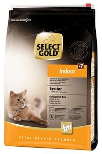 Select Gold Indoor senior szárnyas&rizs 3kg