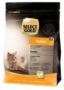 Select Gold Indoor senior szárnyas&rizs 400g
