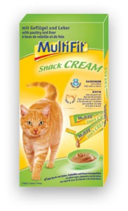 MultiFit Snack Cream májas 7x15g