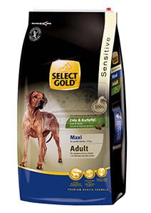 SELECT GOLD Sensitive Maxi Adult Kacsa & Burgonya száraz kutyaeledel 12 kg