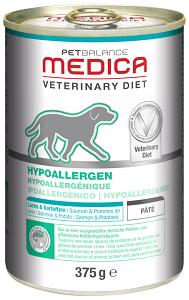 PB Med. táplálék allergia kezelésére konzerv kutyának 375g