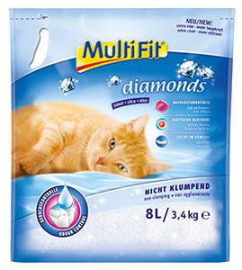 MultiFit alom Diamonds szilikát 8l