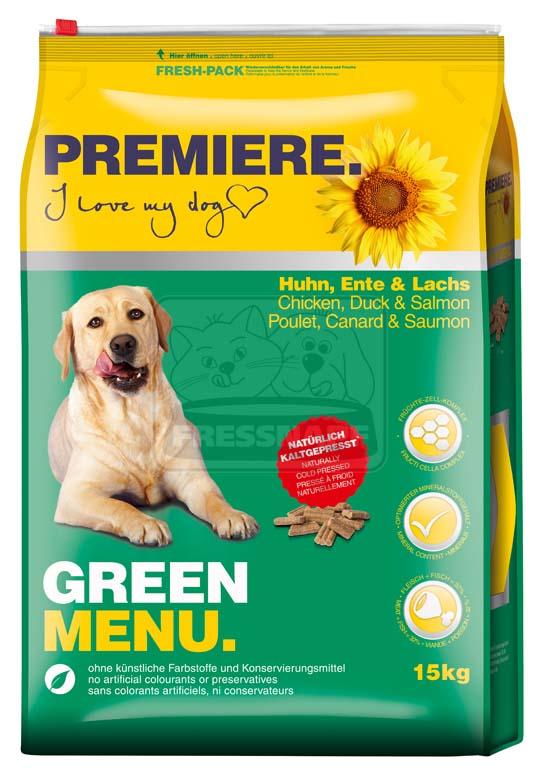 PREMIERE Green Menu 15kg