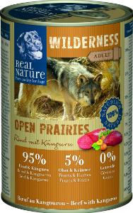 Real Nature Wilderness marha kenguruval kutyakonzerv 400g