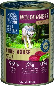 Real Nature Wilderness ló kutyakonzerv 400g