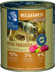 Real Nature Wilderness marha kenguruval kutyakonzerv 800g