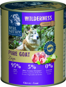 Real Nature Wilderness kecske kutyakonzerv 800g