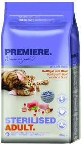 Premiere Sterilised cica 2kg