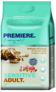 Premiere Sensitive cica 4kg