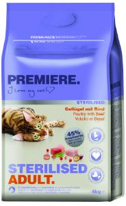 Premiere Sterilised cica 4kg