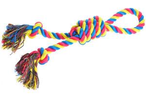 AniOne kutyajáték köteles 1 hurokkal 43cm