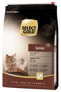 Select Gold Senior +12 szárnyas&rizs 3kg