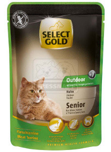 SELECT GOLD Senior Outdoor alutasakos csirke 85g