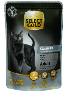 SELECT GOLD Classic Fit alutasakos csirke 85g