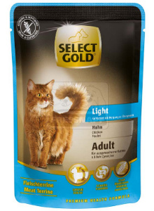 SELECT GOLD Light alutasakos csirke 85g